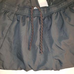 Asics sz. Large grey track pants